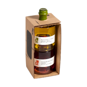 Giftpack olive oil azeit dop red wine vinegrad kopen